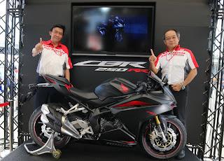 All New Honda CBR250RR Sentul 2016