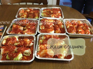 Polish Golumpki Stuffed Cabbage Rolls