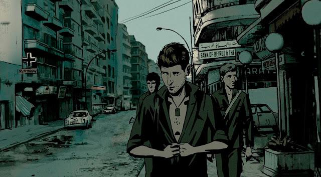 fotograma 4 de la película de animación documental Vals con Bashir