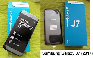 Samsung Galaxy J7 (2017) smartphone