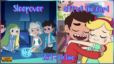 2x9 - Sleepover/Gift of the Card (Latino)