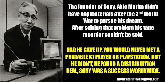 Success Stories From Famous People Who Failed Before Succeeding: Akio Morita