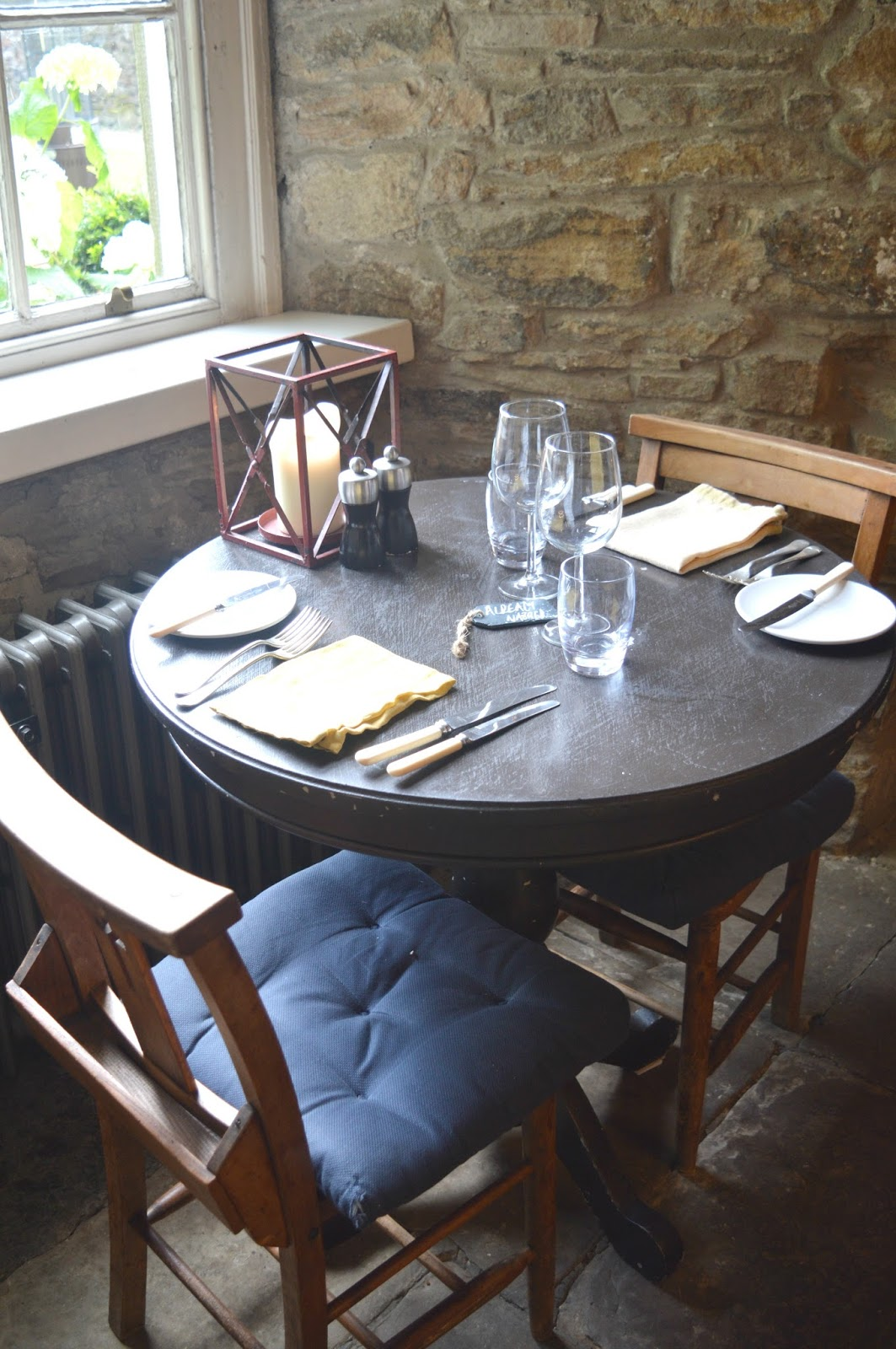 Staycation at the Lord Crewe Arms, Blanchland - Dining