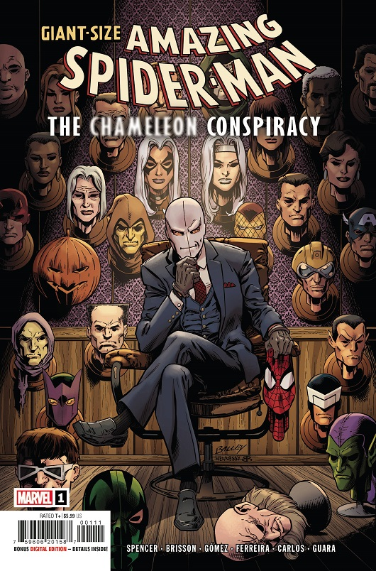 Cover of Giant-Size Amazing Spider-Man: Chameleon Conspiracy #1