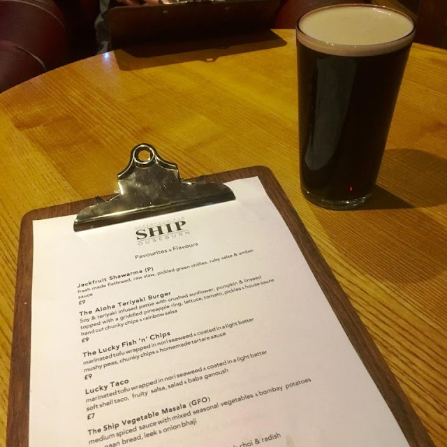Eating Out Vegan Style at The Ship Inn, Ouseburn, Newcastle
