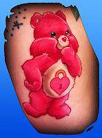 idei ursulet pentru tatuaj