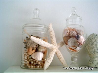 The Upstairs Bathroom Needed Beach Theme Home Decor For Country Chic