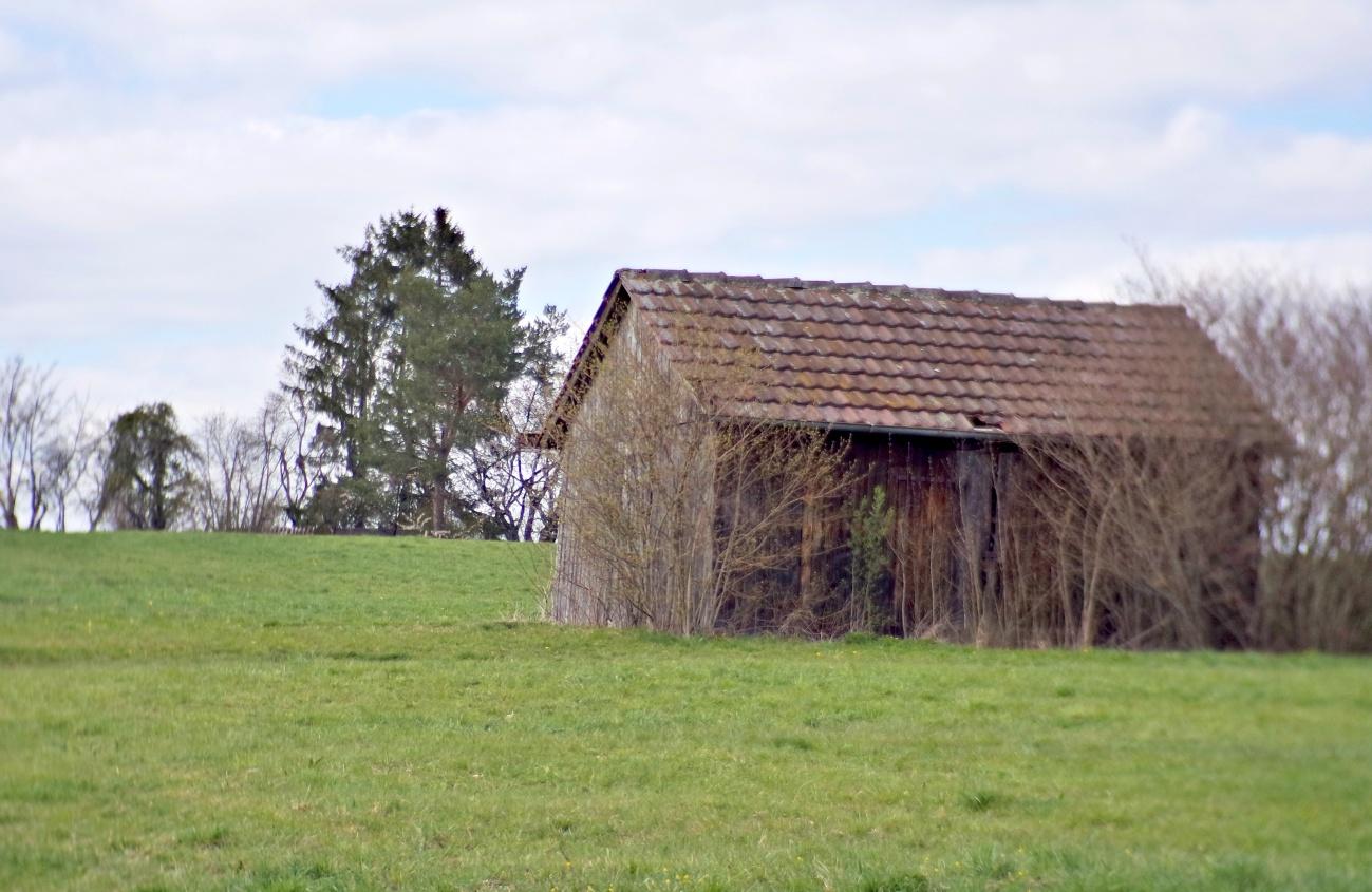 Die passende Hütte ...