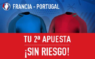 sportium promocion Francia vs Portugal Final Eurocopa 10 julio