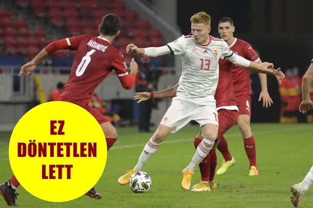 Még első is lehet a magyar válogatott, döntetlent játszottak
