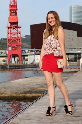 modelos de Faldas y Zapatos