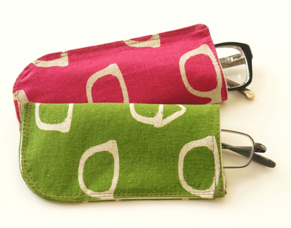 Make your own glasses case. Tutorial