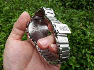 Jam Tangan Pria ESPRIT 805-ALL ES1DHF2A5956 Metal Chrono Stainless Steel ESP001 Like New
