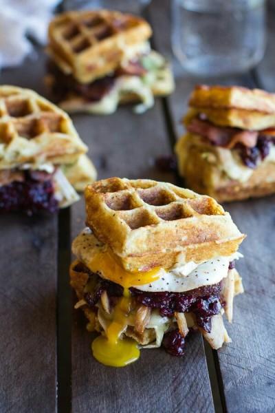 32. Waffle kentang tumbuk