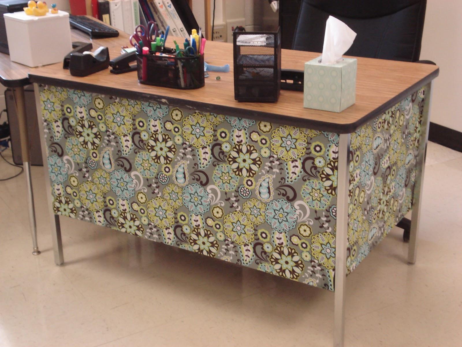 Srsdesign3 Desk Fabric Wrap
