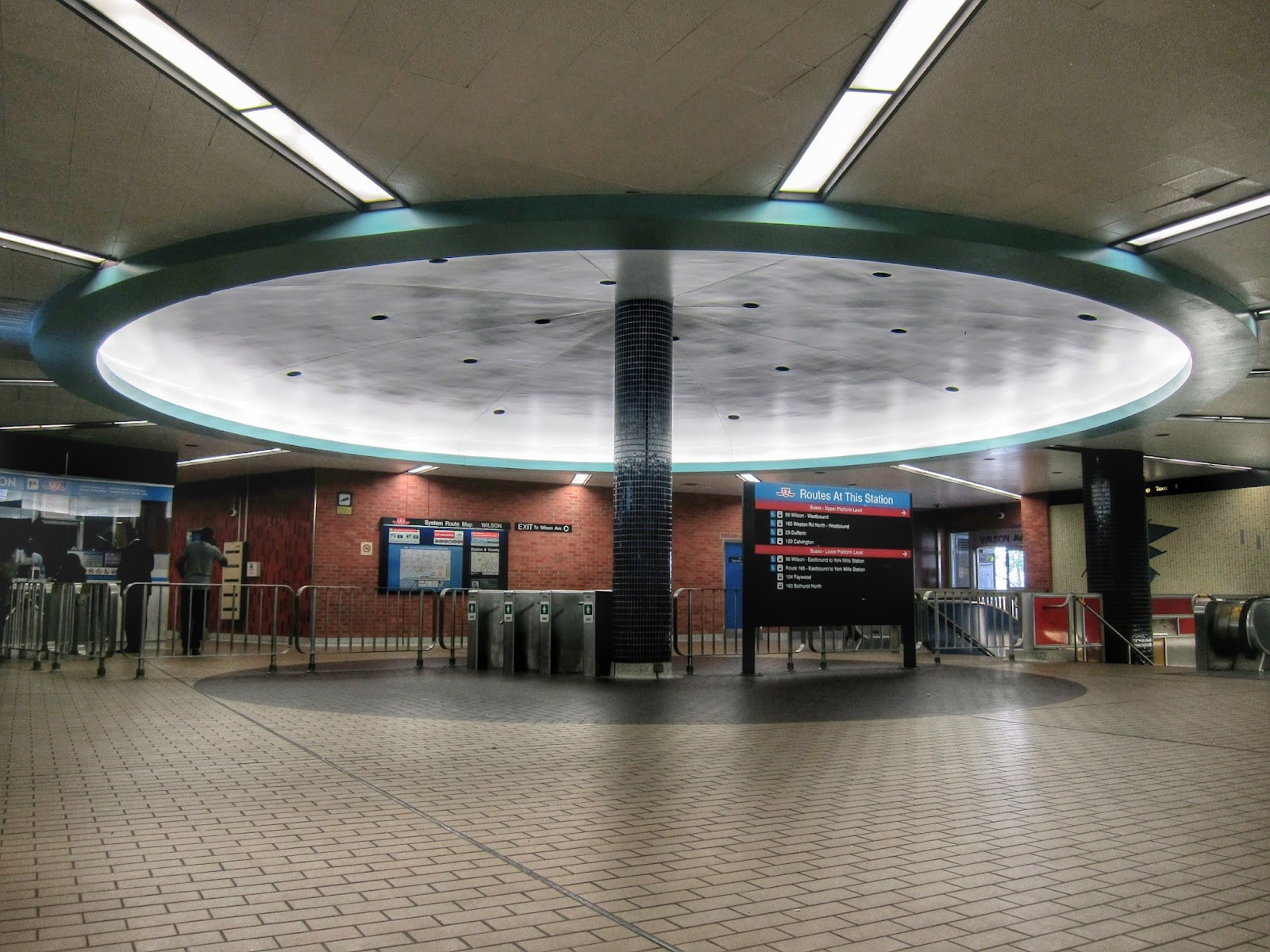 Circular hub at Wilson Station: where everything connects