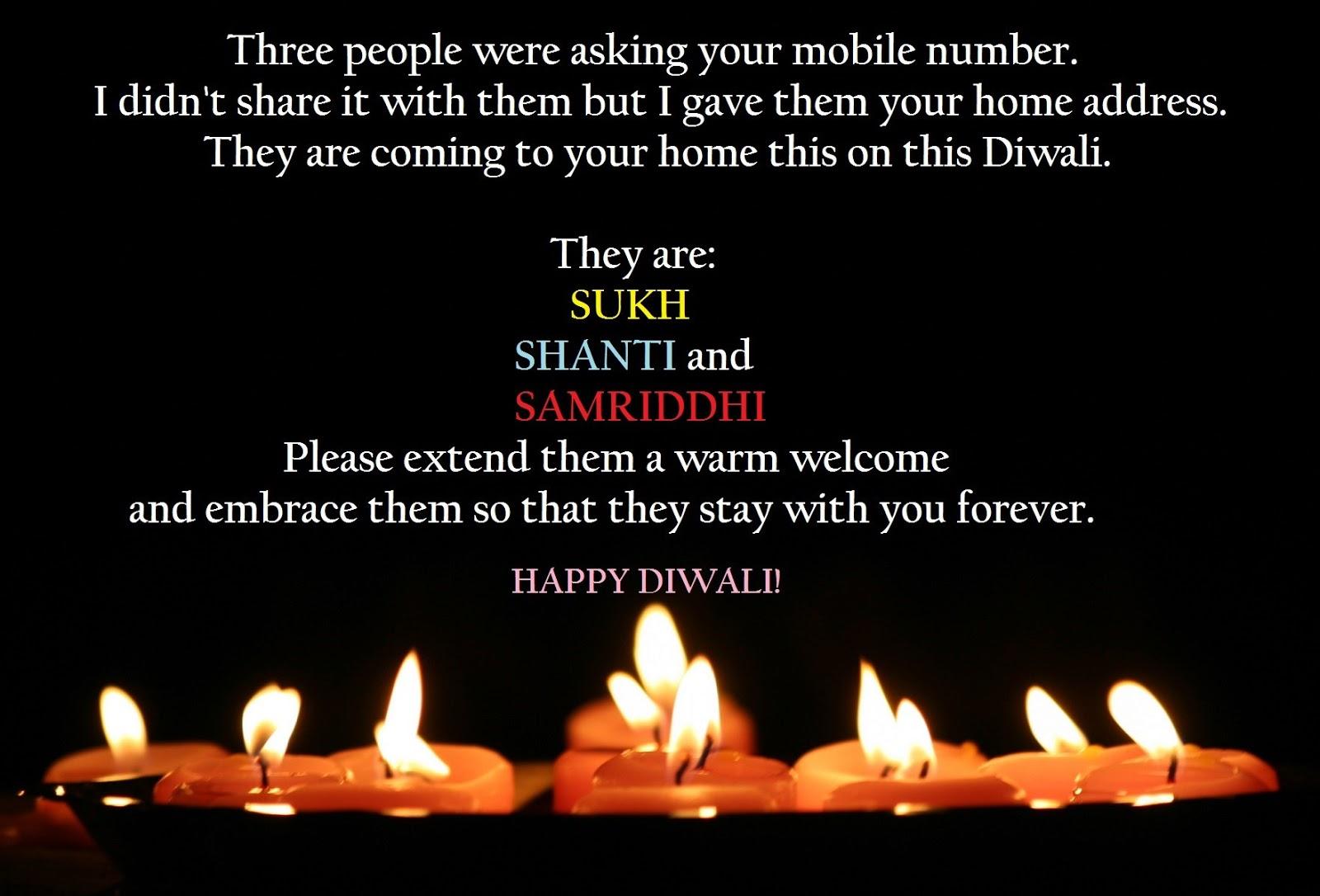 Happy Diwali Sms in English 2018