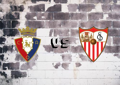 Osasuna vs Sevilla  Resumen