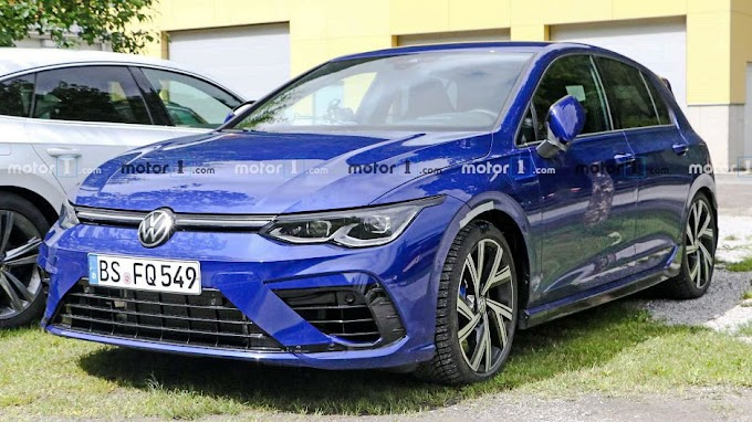 2021 VW Golf R images leaked online