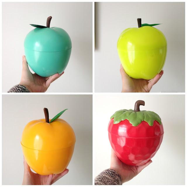 fraise-pomme-seau-a-glacons-vintage-mint-jaune-rouge-orange