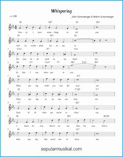 chord whispering 1 lagu jazz standar