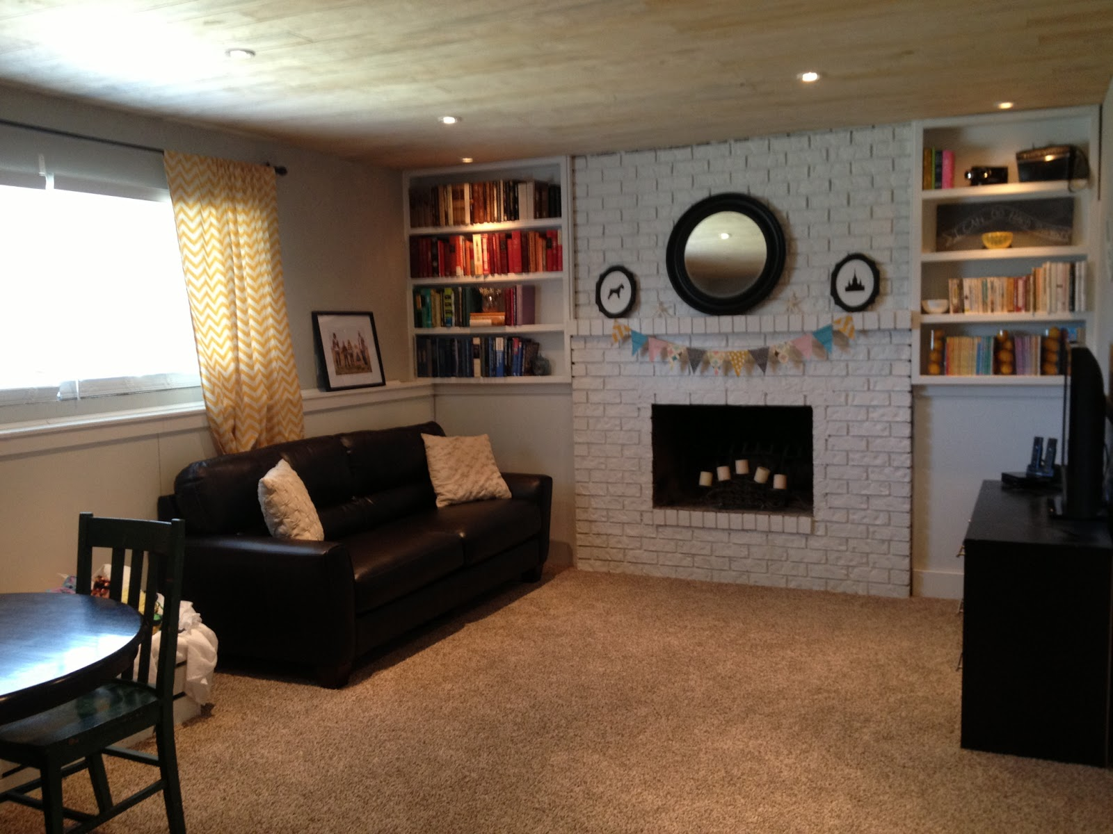 Keep Home Simple Another Update On Our Basement Family Room