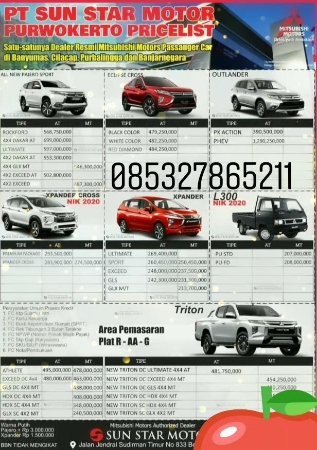 Dealer Mitsubishi Purwokerto Daftar Harga Otr Cash Dan Kredit Mobil Baru