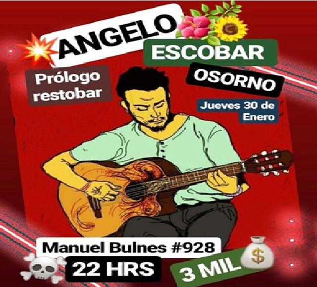 Ángelo Escobar en Prólogo