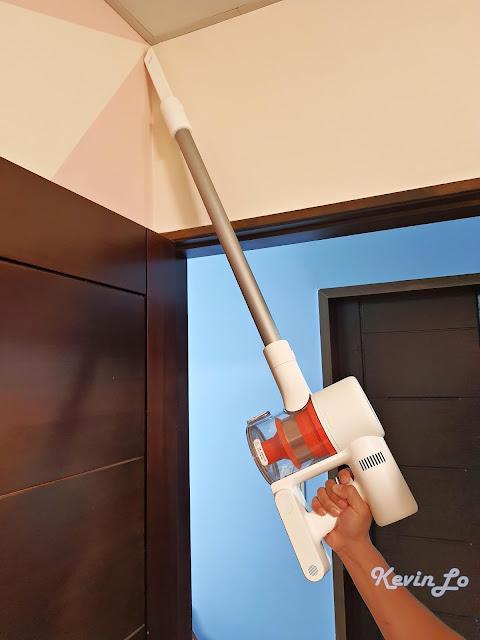 【MI 小米】米家無線吸塵器 G9 (白色) 開箱_縫隙吸頭使用體驗