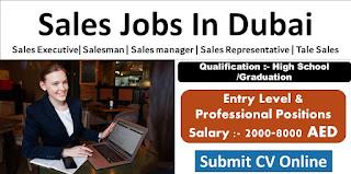 Insurance Sales Advisor Jobs Recruitment in Leading Insurance Company in UAE