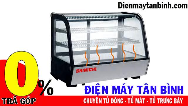 Tủ Mát Trưng Bày Mini Đặt Bàn Shinichi SH-120L-4