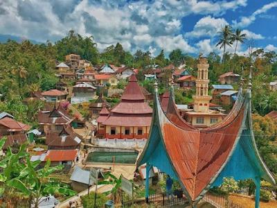 Desa Nagari Tua Pariangan, Desa Terindah di Dunia Yang Kental Akan Sejarah Minang