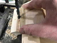 Drilling the hole