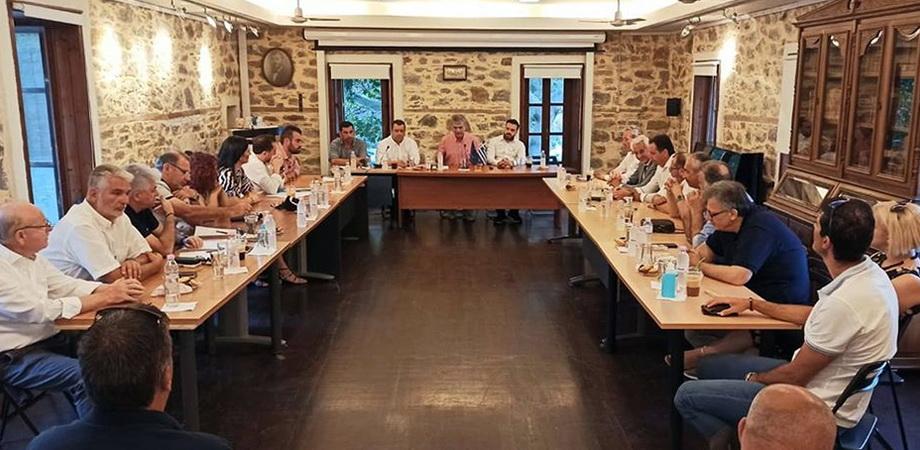 Εισήγηση του Προέδρου της ΠΕΔ ΑΜ-Θ Βασίλη Μαυρίδη με θέμα «Τα βασικά προβλήματα και προτάσεις για την ανάπτυξη της Σαμοθράκης»