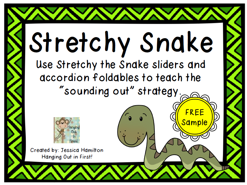 http://www.teacherspayteachers.com/Product/Stretchy-Snake-Decoding-Strategy-FREE-SAMPLE-1241015