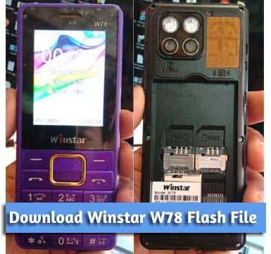 Winstar W78 Flash File