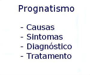 Prognatismo causas sintomas diagnóstico tratamento prevenção riscos complicações