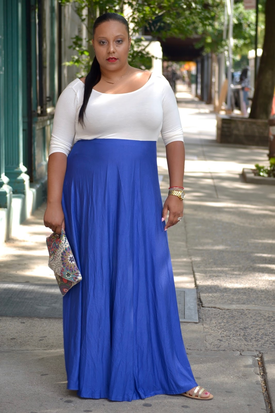 Two Tone Maxi Dress X Sammy Dress