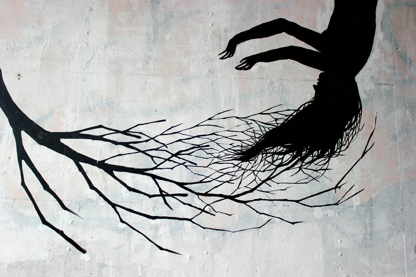 Street Art Collaboration By David De La Mano and Pablo S. Herrero In Porto, Portugal. 5
