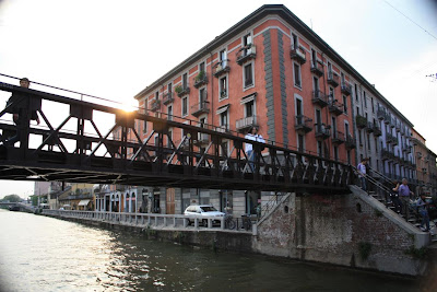 Il Navigli is one of the most lively areas in Milano