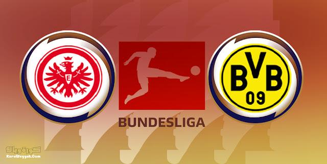 نتيجة مباراة بوروسيا دورتموند وآينتراخت فرانكفورت بتاريخ 14-08-2021 في الدوري الالماني