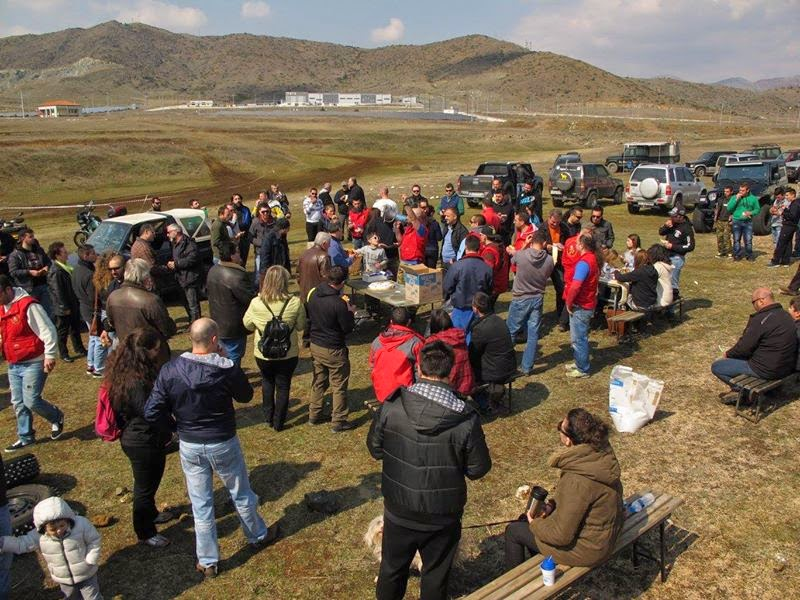 Η κοπή της πίτας της Λέσχης 4Χ4 Καστοριάς (φωτογραφίες)