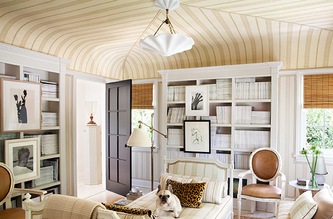 But This Southern Living Idea House Room Just Steals The Show. Those  Anatolian Rugs, The Built In Cabinets, The Symmetry, The Layers And  Textures ... Color ...