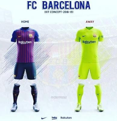 segunda equipacion Barcelona en venta