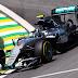 Rosberg se impõe em Interlagos e lidera último treino livre