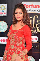 Ritika in sindoori Red Dress at IIFA Utsavam Awards 2017  Day 2  Exclusive 13.JPG