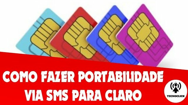 Como fazer portabilidade para claro por SMS!