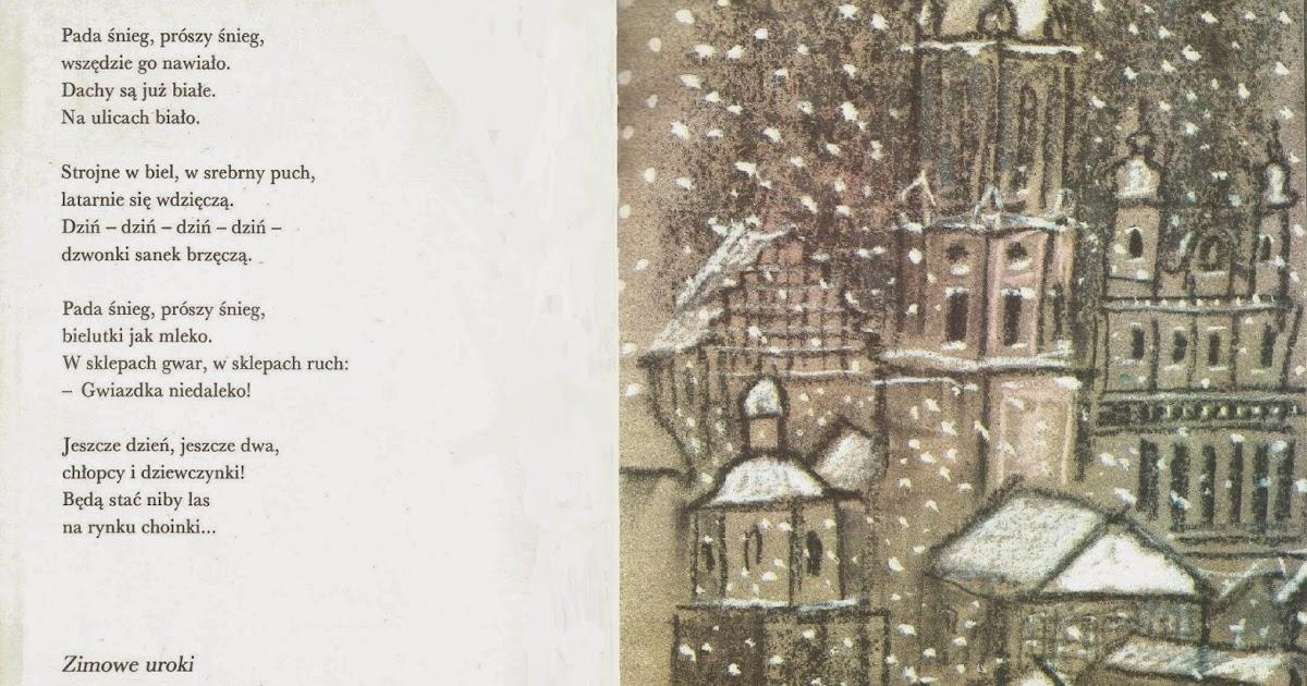 Starannie Wydarta Kartka Nr 1 Zima Zimowe Uroki Józef