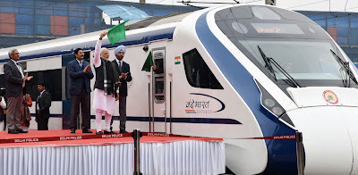 Vande Bharat Express Successful Completes Trial Run On Delhi-Katra Route