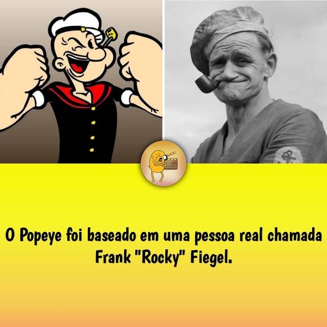 O Popeye foi baseado em uma pessoa real chamada frank Rocky Fiegel